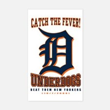Cath The Fever - Detroit Unde Sticker (Rectangular
