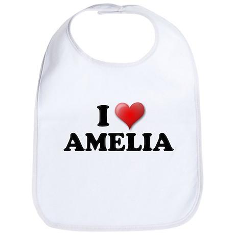 I LOVE AMELIA SHIRT T-SHIRT A Bib