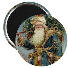 Vintage Christmas Santa Claus Magnet