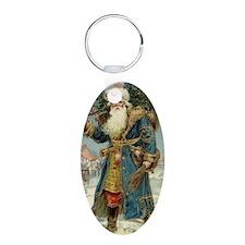 Vintage Christmas Santa Cla Keychains