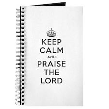 Keep Calm & Praise Journal