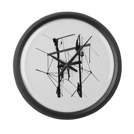 design Large Wall Clock by LinemanWear