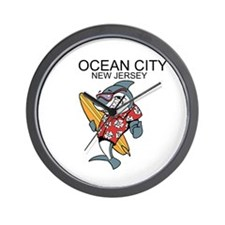 Ocean City, New Jersey Wall Clock