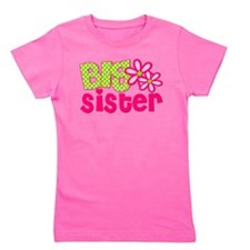 Big Sister Green Dot Girl's Tee