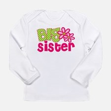 Big Sister Green Dot Long Sleeve T-Shirt