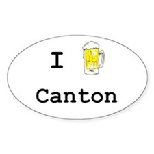 Canton Oval Decal