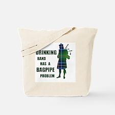 Bagpipe problem Tote Bag