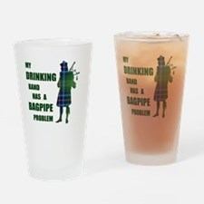 Bagpipe problem Drinking Glass