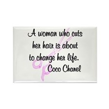 HAIR STYLIST QUOTE Rectangle Magnet