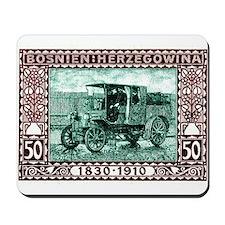 1910 Bosnia Herzegovina Mail Truck Postasge Stamp