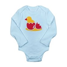 Biddy bird egg Long Sleeve Infant Bodysuit