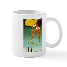 Cuba,Travel, Vintage Poster Mugs