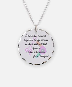 FUN HAIR QUOTE Necklace