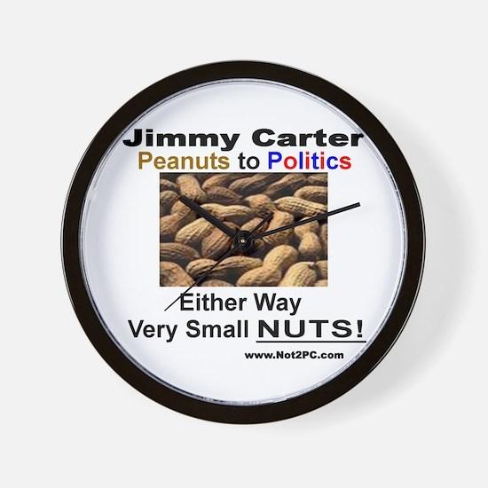 small nuts Wall Clock