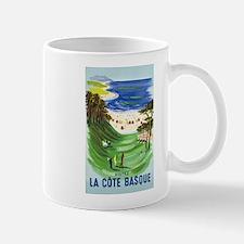Golf, France, Travel, Vintage Poster Mugs