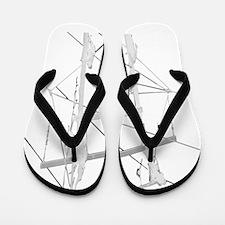 Cute Lineman Flip Flops