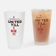 Unique Manchester united Drinking Glass