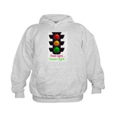 Red light, green light Hoodie