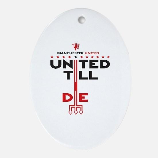 Unique United Oval Ornament