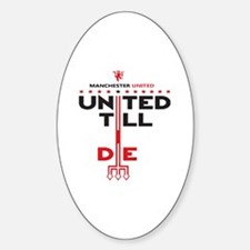 Cute Slogans Sticker (Oval)