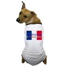 French Girl Dog T-Shirt