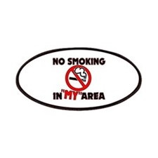 No Smoking in MY Area Patches
