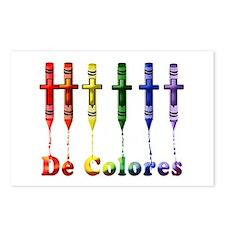 Cute De colores Postcards (Package of 8)
