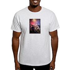 Guitar Art 7 Ash Grey T-Shirt