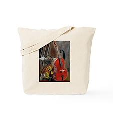 Upright Bass Art 1 Tote Bag