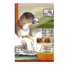 Pit Bull Mix Postcards (Package of 8)