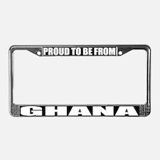 Ghana License Plate Frame