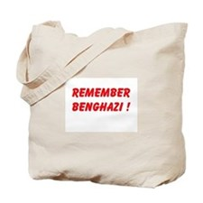 Remember Benghazi Tote Bag