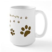 Dog Mug -Happiness is a cup of coffee... Mugs