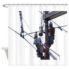 Hot Stick Shower Curtain