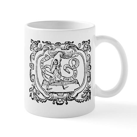 Freemasonry Labore et Constantia Mug