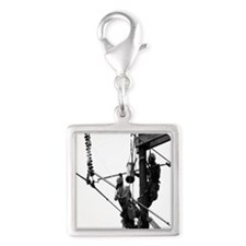 Hot Stick, Grayscale for Light Colored Items Charm