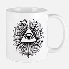 Illuminati Pyramid Eye Mug