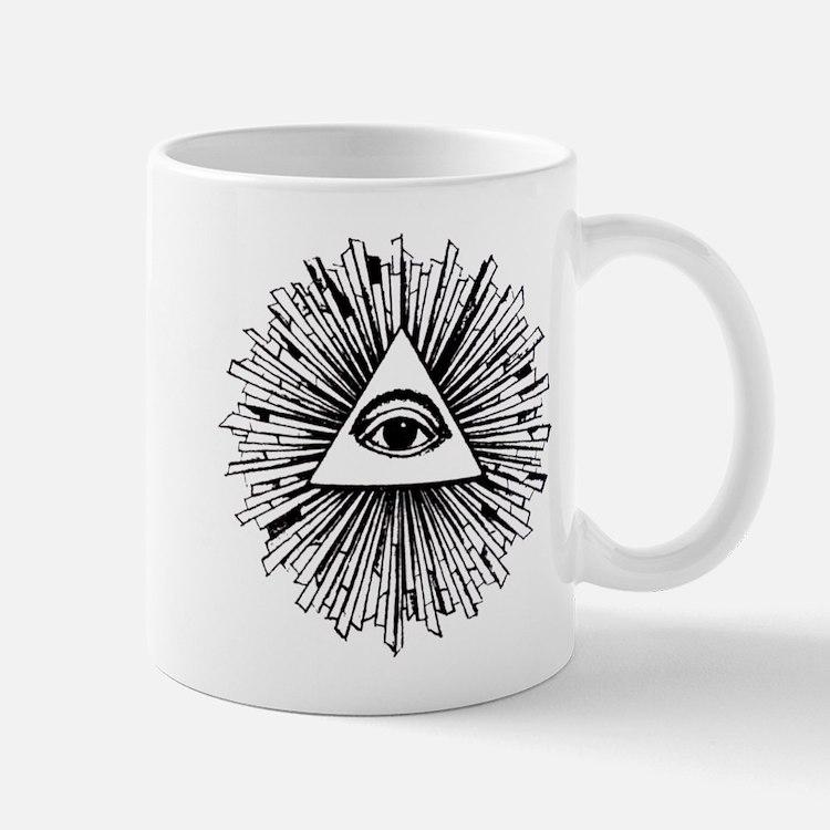 Illuminati Pyramid Eye Mug