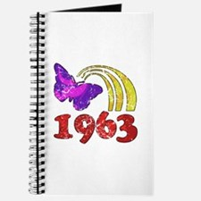 1963 Birthday (Colorful) Journal
