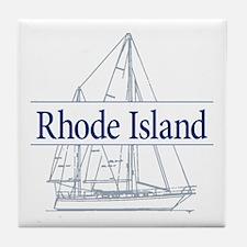 Rhode Island - Tile Coaster