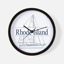 Rhode Island - Wall Clock