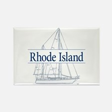 Rhode Island - Rectangle Magnet