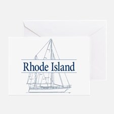 Rhode Island - Greeting Card