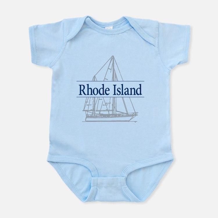 Rhode Island - Infant Bodysuit