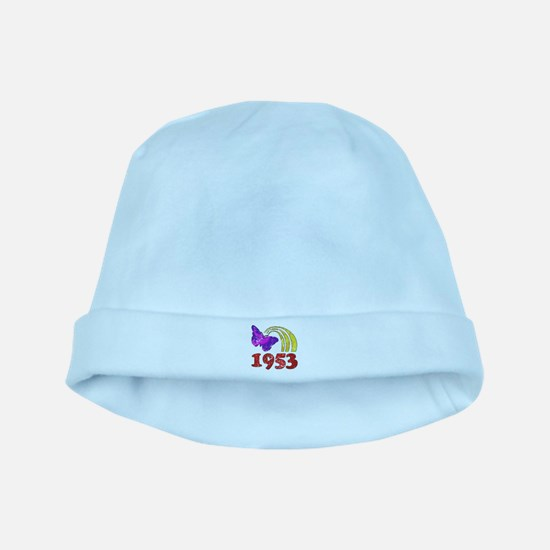 1953 Birthday (Colorful) baby hat