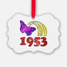 1953 Birthday (Colorful) Ornament