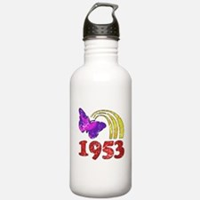 1953 Birthday (Colorful) Water Bottle