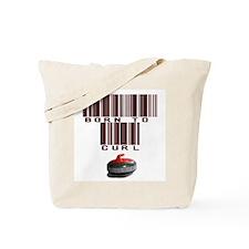 Born to Curl Tote Bag
