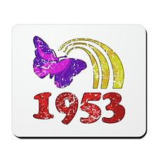 1953 Birthday (Colorful) Mousepad