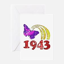 1943 Birthday (Colorful) Greeting Card